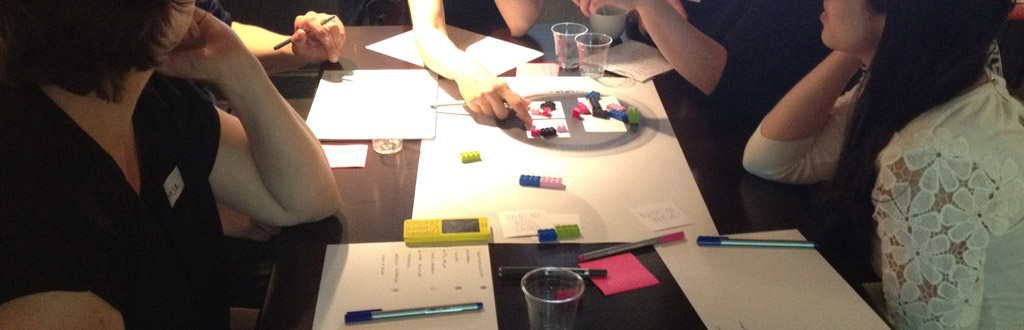Policy Design: Lego serious play to visualise policy choices.